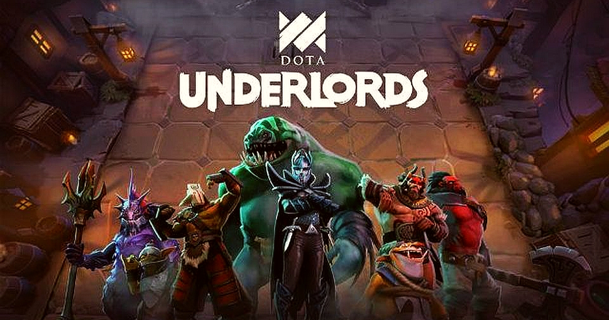 Play Dota Underlords to entertain yourself
